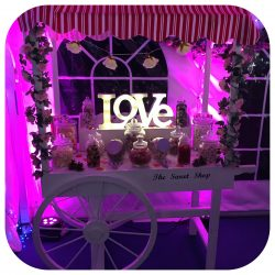 candy cart hire gloucestershire