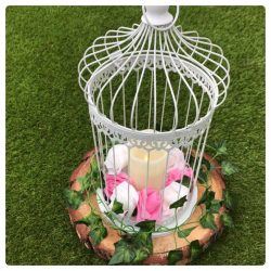 birdcage table centre piece