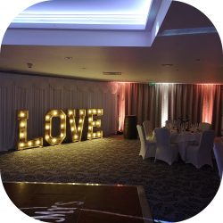 light up letter hire 3