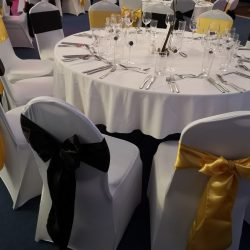 chair sashes and bow hire