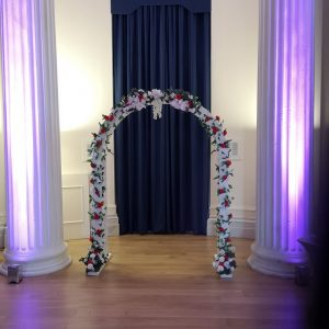 flower arch for weddings